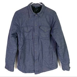 KAVU Oswald Quilted Shirt Jacket Men's Small